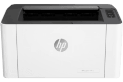 HP Laser 107w vista frontal